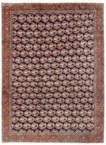 Bidjar Teppich  254X343 Echter Orientalischer Handgeknüpfter Dunkelrot/Braun Großer (Wolle, Persien/Iran)