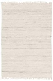 Chinara - Natural/Weiß Teppich  160X230 Echter Moderner Handgewebter Beige (Wolle, Indien)