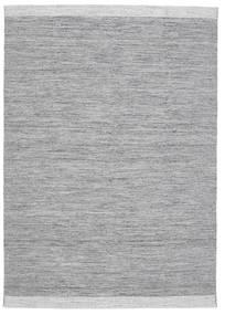 Serafina - Dunkelgrau Melange Teppich 160X230 Echter Moderner Handgewebter Hellgrau/Hellblau (Wolle, Indien)