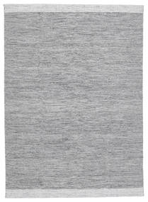 Serafina - Dunkelgrau Melange Teppich 140X200 Echter Moderner Handgewebter Hellgrau (Wolle, Indien)
