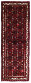 Hosseinabad Teppich  69X193 Echter Orientalischer Handgeknüpfter Läufer Dunkelrot (Wolle, Persien/Iran)