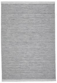 Serafina - Dunkelgrau Melange Teppich  200X300 Echter Moderner Handgewebter Hellgrau/Hellblau (Wolle, Indien)