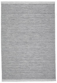 Serafina - Dunkelgrau Melange Teppich 300X400 Echter Moderner Handgewebter Hellgrau/Hellblau Großer (Wolle, Indien)