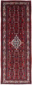 Hamadan Teppich  76X205 Echter Orientalischer Handgeknüpfter Läufer Dunkelrot/Rot (Wolle, Persien/Iran)