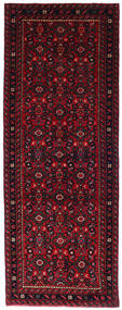 Hosseinabad Teppich  72X194 Echter Orientalischer Handgeknüpfter Läufer Dunkelrot/Rot (Wolle, Persien/Iran)