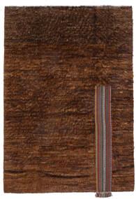 Moroccan Berber - Afghanistan Teppich  194X281 Echter Moderner Handgeknüpfter Dunkelbraun/Braun (Wolle, Afghanistan)