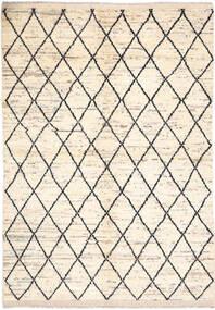Moroccan Berber - Afghanistan Teppich  171X236 Echter Moderner Handgeknüpfter Beige/Hellgrau (Wolle, Afghanistan)