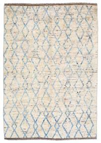 Moroccan Berber - Afghanistan Teppich 172X240 Echter Moderner Handgeknüpfter Beige/Hellgrau (Wolle, Afghanistan)