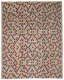 Moroccan Berber - Afghanistan Teppich 235X288 Echter Moderner Handgeknüpfter Hellgrau/Olivgrün (Wolle, Afghanistan)