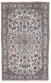 Nain Teppich  151X255 Echter Orientalischer Handgeknüpfter Dunkelgrau/Beige (Wolle, Persien/Iran)