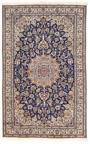Nain Teppich  155X250 Echter Orientalischer Handgeknüpfter Dunkelgrau/Dunkelbraun (Wolle, Persien/Iran)