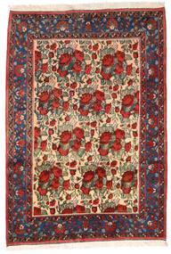 Afshar Teppich 164X235 Echter Orientalischer Handgeknüpfter Dunkelrot/Schwartz (Wolle, Persien/Iran)