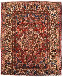 Bachtiar Teppich 174X214 Echter Orientalischer Handgeknüpfter Dunkelbraun/Dunkelrot (Wolle, Persien/Iran)