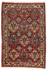 Bachtiar Collectible Teppich 105X153 Echter Orientalischer Handgeknüpfter Dunkelbraun/Dunkelrot (Wolle, Persien/Iran)