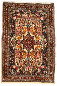 Bachtiar Collectible Teppich 110X165 Echter Orientalischer Handgeknüpfter Dunkelbraun/Dunkelrot (Wolle, Persien/Iran)