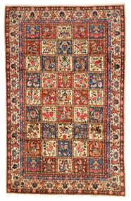 Bachtiar Collectible Teppich 203X323 Echter Orientalischer Handgeknüpfter Dunkelrot/Schwartz (Wolle, Persien/Iran)