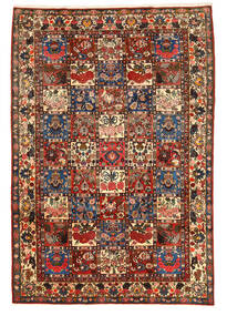 Bachtiar Collectible Teppich 205X300 Echter Orientalischer Handgeknüpfter Dunkelbraun (Wolle, Persien/Iran)