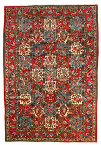Bachtiar Collectible Teppich 206X303 Echter Orientalischer Handgeknüpfter Dunkelgrau/Dunkelrot (Wolle, Persien/Iran)
