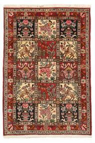 Bachtiar Collectible Teppich 103X150 Echter Orientalischer Handgeknüpfter Dunkelbraun/Hellbraun (Wolle, Persien/Iran)