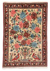 Bachtiar Collectible Teppich 106X152 Echter Orientalischer Handgeknüpfter Dunkelbraun/Dunkelrot (Wolle, Persien/Iran)