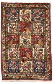 Bachtiar Collectible Teppich 106X162 Echter Orientalischer Handgeknüpfter Dunkelbraun/Dunkelrot (Wolle, Persien/Iran)