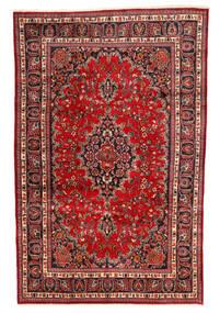 Maschad Teppich  190X295 Echter Orientalischer Handgeknüpfter (Wolle, Persien/Iran)