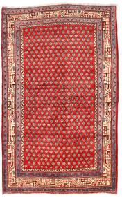 Arak Teppich  125X205 Echter Orientalischer Handgeknüpfter Dunkelrot/Rot (Wolle, Persien/Iran)