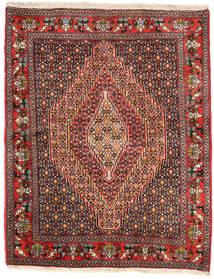 Senneh Teppich  125X155 Echter Orientalischer Handgeknüpfter (Wolle, Persien/Iran)