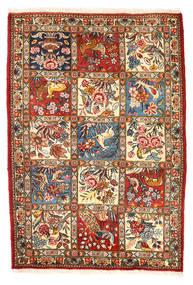 Bachtiar Collectible Teppich  110X157 Echter Orientalischer Handgeknüpfter Dunkelgrau/Beige (Wolle, Persien/Iran)