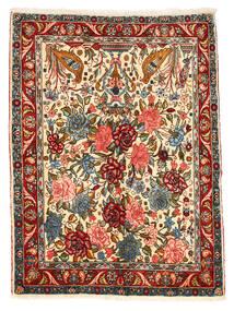 Bachtiar Collectible Teppich 101X148 Echter Orientalischer Handgeknüpfter Dunkelgrau/Rot (Wolle, Persien/Iran)