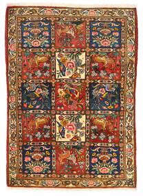 Bachtiar Collectible Teppich 115X155 Echter Orientalischer Handgeknüpfter Dunkelbraun/Rot (Wolle, Persien/Iran)