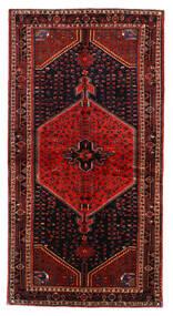 Toiserkan Teppich  137X265 Echter Orientalischer Handgeknüpfter Dunkelrot/Rost/Rot (Wolle, Persien/Iran)