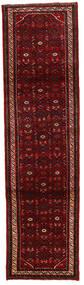 Hosseinabad Teppich  84X278 Echter Orientalischer Handgeknüpfter Läufer Dunkelrot/Rot (Wolle, Persien/Iran)