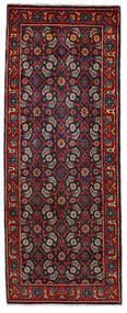 Mahal Teppich 64X164 Echter Orientalischer Handgeknüpfter Läufer Dunkelrot/Dunkelblau (Wolle, Persien/Iran)