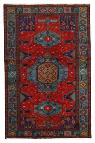 Koliai Teppich 125X201 Echter Orientalischer Handgeknüpfter Dunkelrot/Dunkelbraun (Wolle, Persien/Iran)