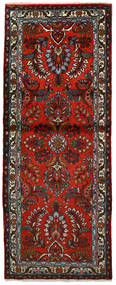 Mehraban Teppich  78X196 Echter Orientalischer Handgeknüpfter Läufer Dunkelbraun/Rost/Rot (Wolle, Persien/Iran)