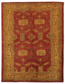 Oriental Overdyed Teppich 144X183 Echter Moderner Handgeknüpfter Dunkelbraun/Dunkelrot/Beige (Wolle, Persien/Iran)
