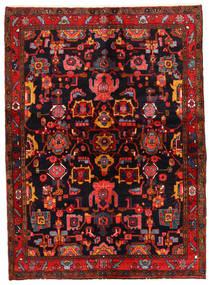 Lillian Teppich 146X200 Echter Orientalischer Handgeknüpfter Dunkelbraun/Dunkelrot (Wolle, Persien/Iran)