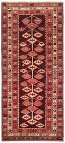 Kelim Karabach Teppich 132X303 Echter Orientalischer Handgewebter Läufer Dunkelrot/Rost/Rot (Wolle, Aserbaidschan/Rußland)