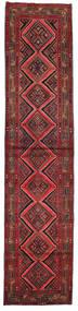 Asadabad Teppich 80X353 Echter Orientalischer Handgeknüpfter Läufer Dunkelrot (Wolle, Persien/Iran)