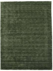 Handloom Gabba - Waldgrün Teppich  210X290 Moderner Dunkelgrün (Wolle, Indien)