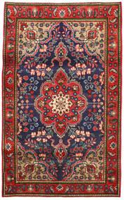 Täbriz Teppich 100X165 Echter Orientalischer Handgeknüpfter Rost/Rot/Dunkelgrau (Wolle, Persien/Iran)