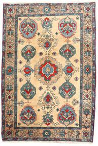 Ardebil Teppich  114X168 Echter Orientalischer Handgeknüpfter Beige/Hellbraun (Wolle, Persien/Iran)