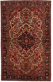 Lillian Teppich  148X240 Echter Orientalischer Handgeknüpfter Dunkelbraun/Dunkelrot (Wolle, Persien/Iran)