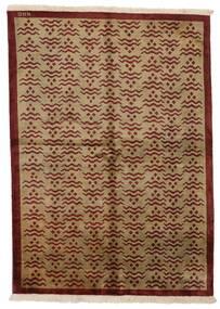 Himalaya Teppich  171X237 Echter Moderner Handgeknüpfter Hellbraun/Dunkelbraun/Braun (Wolle, Indien)