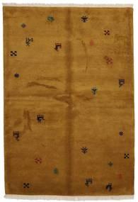 Gabbeh Indisch Teppich  176X246 Echter Moderner Handgeknüpfter Braun (Wolle, Indien)