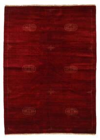 Huttan Teppich  142X195 Echter Orientalischer Handgeknüpfter Dunkelrot/Dunkelbraun (Wolle, Pakistan)
