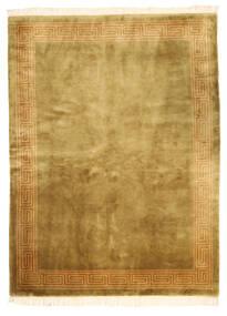 China In Antikem Stil Teppich  168X229 Echter Orientalischer Handgeknüpfter Braun/Olivgrün (Wolle, China)