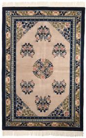 China In Antikem Stil Teppich  152X229 Echter Orientalischer Handgeknüpfter Schwartz/Hellbraun (Wolle, China)