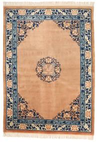 China In Antikem Stil Teppich  168X229 Echter Orientalischer Handgeknüpfter Hellbraun/Dunkelblau (Wolle, China)